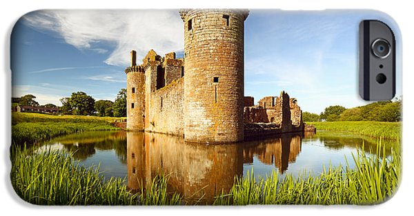 Castle iPhone 6s Case - Caerlaverock Castle by Grant Glendinning