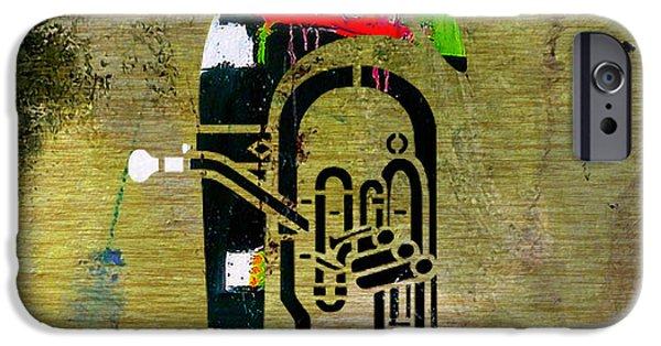 Tuba IPhone 6s Case by Marvin Blaine
