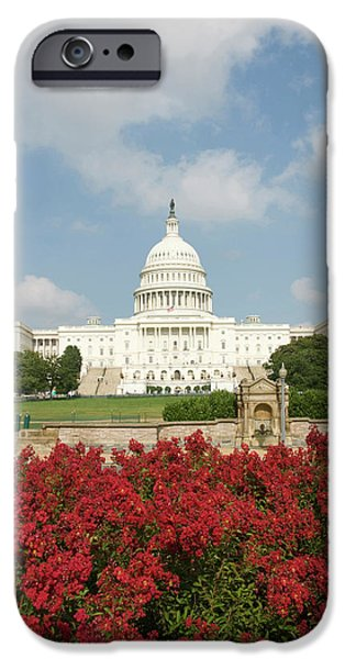 Capitol Building iPhone 6s Case - Washington Dc, Usa by Lee Foster
