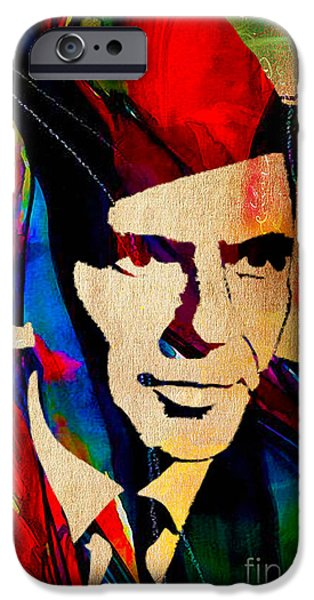 Frank Sinatra Art IPhone 6s Case by Marvin Blaine