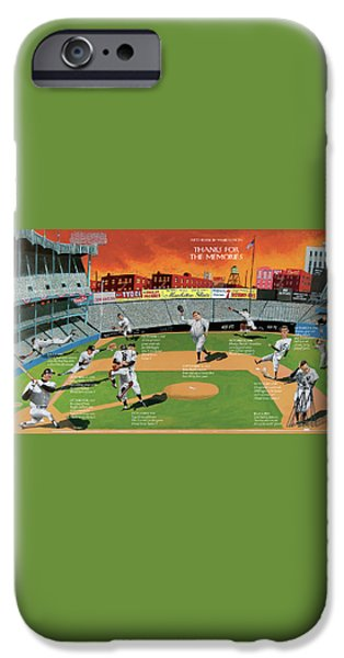 Yankee Stadium iPhone 6s Case - New Yorker September 22nd, 2008 by Mark Ulriksen