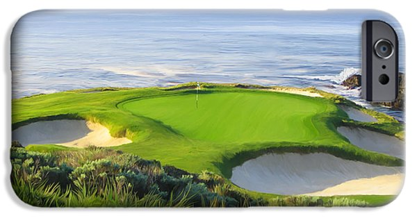7th Hole At Pebble Beach IPhone 6s Case
