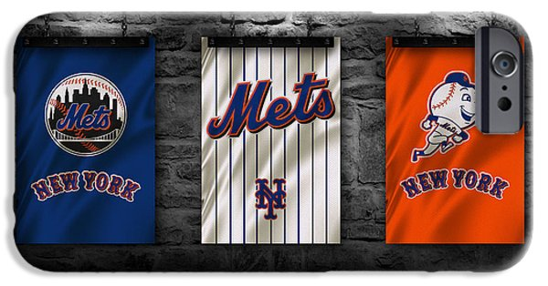 New York Mets iPhone 6s Case - New York Mets by Joe Hamilton