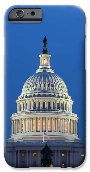 Capitol Building iPhone 6s Case - Usa, Washington, D by Jaynes Gallery