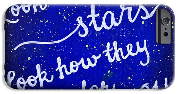 8x10 Look At The Stars IPhone 6s Case