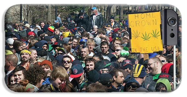 Legalisation Of Marijuana Rally IPhone 6s Case by Jim West