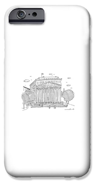 Washington D.c iPhone 6s Case - A Building In Washington Dc Is Shown by Michael Crawford