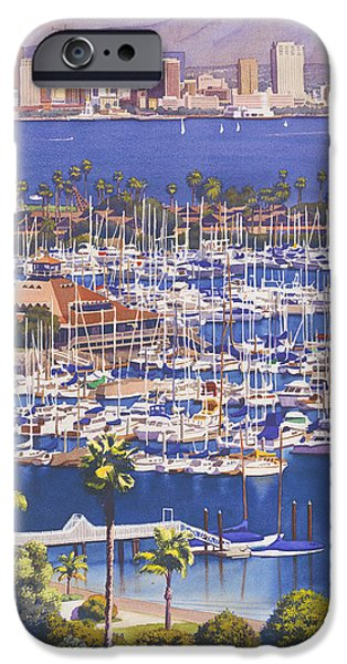 Cities iPhone 6s Case - A Clear Day In San Diego by Mary Helmreich