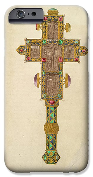 A Decorated Cross IPhone Case by British Library