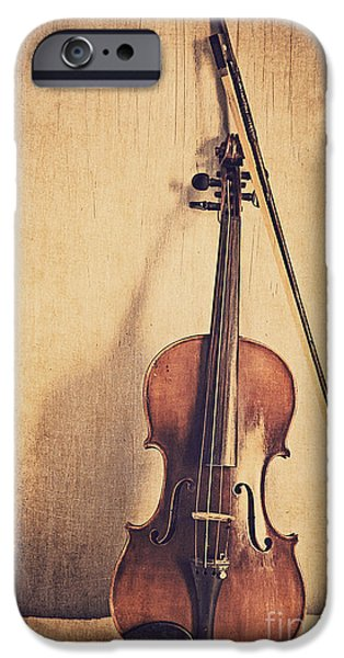 A Fiddle IPhone 6s Case by Emily Kay