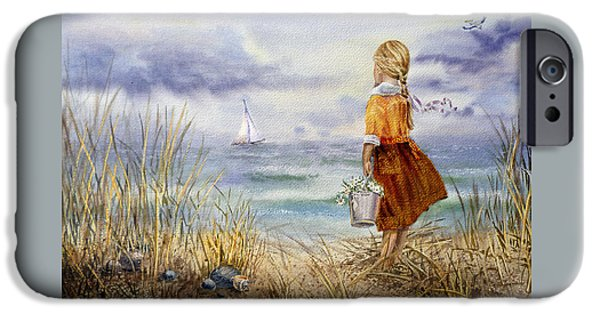 Pelican iPhone 6s Case - A Girl And The Ocean by Irina Sztukowski