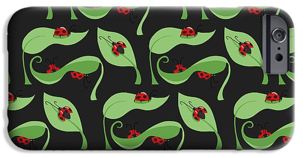 A Litte Bug IPhone 6s Case by Debra  Miller