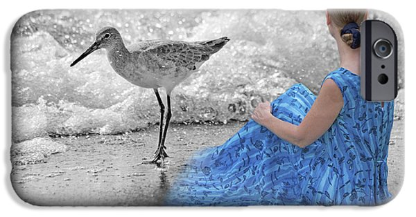 Sandpiper iPhone 6s Case - A Sandpiper's Dream by Betsy Knapp