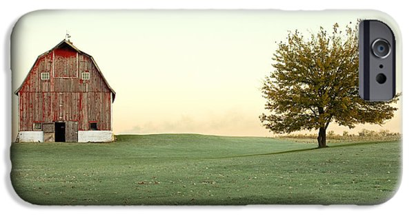 Rural Scenes iPhone 6s Case - A Wisconsin Postcard by Todd Klassy