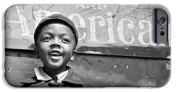 A Young Harlem Newsboy IPhone 6s Case by Underwood Archives
