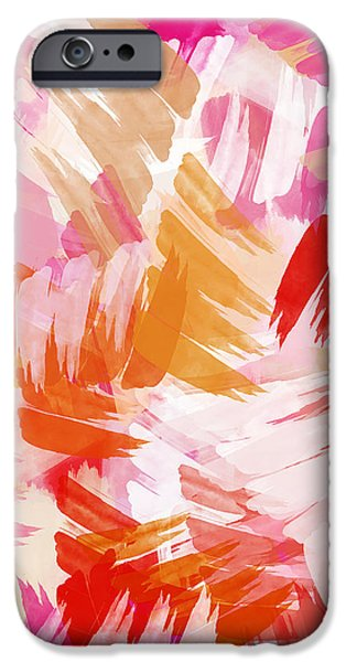 Abstract Paint Pattern IPhone 6s Case by Christina Rollo