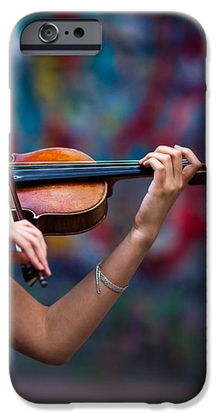 Violin iPhone 6s Case - Abstracts From Vivaldi - Featured 3 by Alexander Senin