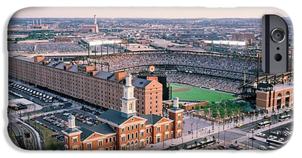 Oriole iPhone 6s Case - Aerial View Of A Baseball Field by Panoramic Images