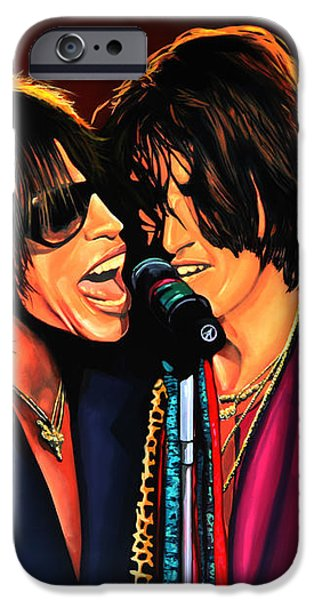 Aerosmith Toxic Twins Painting IPhone 6s Case by Paul Meijering