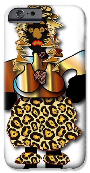 IPhone 6s Case featuring the digital art African Dancer 2 by Marvin Blaine