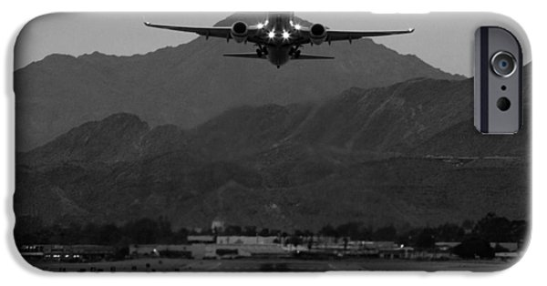 Alaska Airlines Palm Springs Takeoff IPhone 6s Case