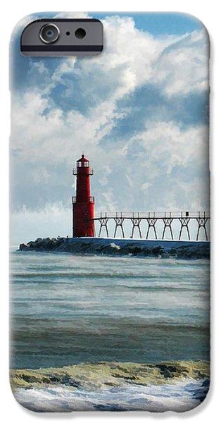 Algoma Pierhead Lighthouse IPhone 6s Case by Christopher Arndt