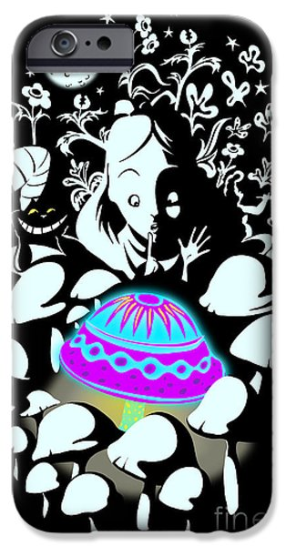 Fairy iPhone 6s Case - Alice's Magic Discovery by Sassan Filsoof