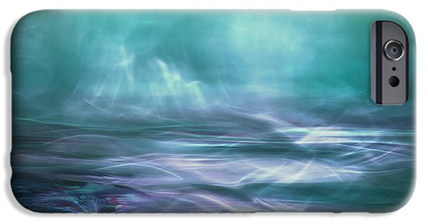 Teal iPhone 6s Case - Alien Arctic Waters by Willy Marthinussen