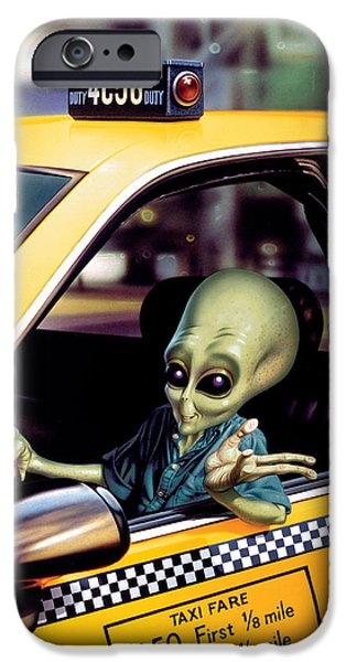 Alien Cab IPhone 6s Case by Steve Read