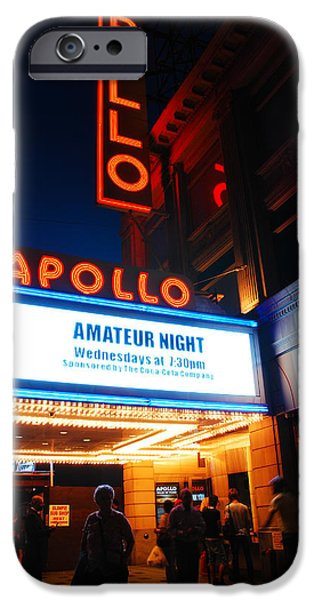 Apollo Theater iPhone 6s Case - Amateur Night by James Kirkikis