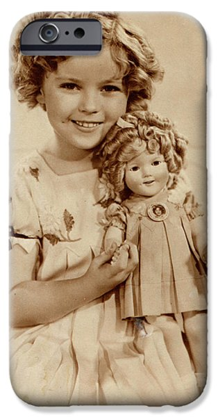 Shirley Temple iPhone 6s Case - American Film Actress Shirley  Temple by Mary Evans Picture Library