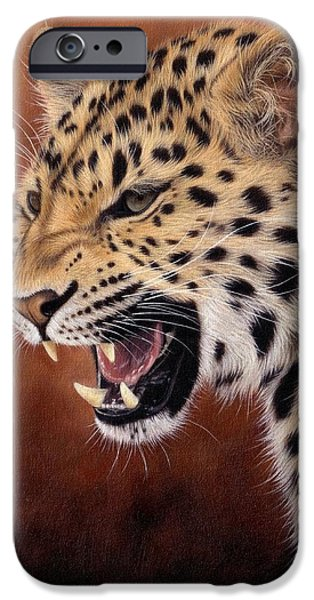 Amur Leopard Painting IPhone 6s Case