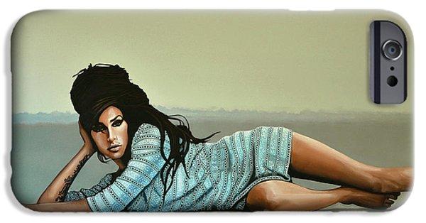 Amy Winehouse 2 IPhone 6s Case by Paul Meijering