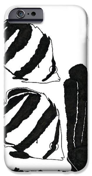Scuba Diving iPhone 6s Case - Angel Fish Art - Little Angels - By Sharon Cummings by Sharon Cummings
