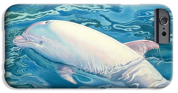 Dolphin iPhone 6s Case - Angel Of Taiji by Catherine Garneau