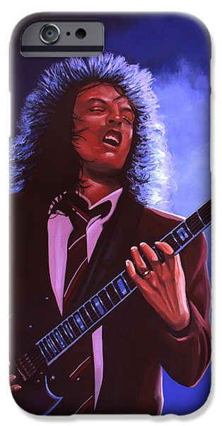 Rock And Roll iPhone 6s Case - Angus Young Of Ac / Dc by Paul Meijering