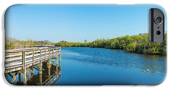 Anhinga iPhone 6s Case - Anhinga Trail Boardwalk, Everglades by Panoramic Images