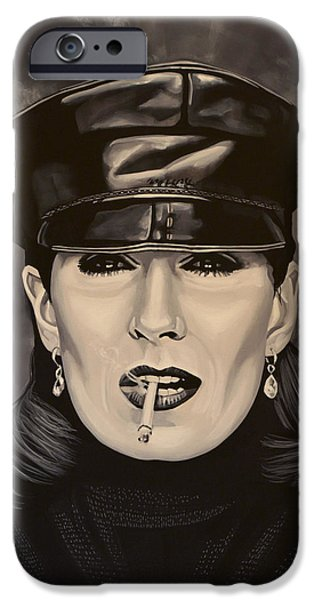 Anjelica Huston IPhone 6s Case by Paul Meijering
