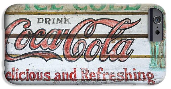 Antique Coca Cola Sign  IPhone 6s Case