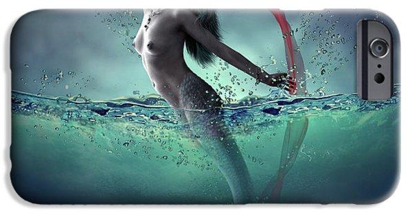 Mermaid iPhone 6s Case - Ariel by Dmitry Laudin