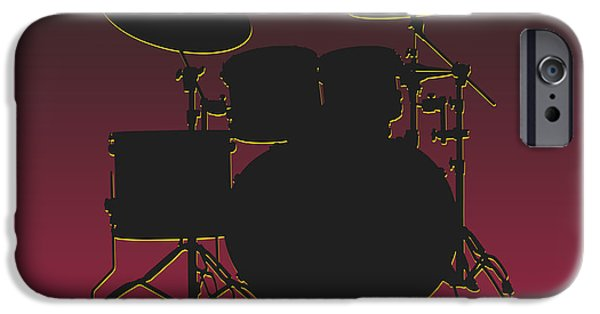 Arizona Cardinals Drum Set IPhone 6s Case by Joe Hamilton