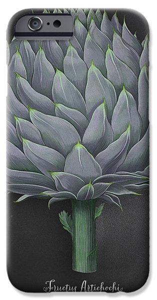 Artichoke Kitchen Art Print IPhone 6s Case