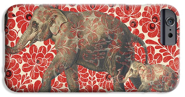 Asian Elephant-jp2185 IPhone 6s Case by Jean Plout
