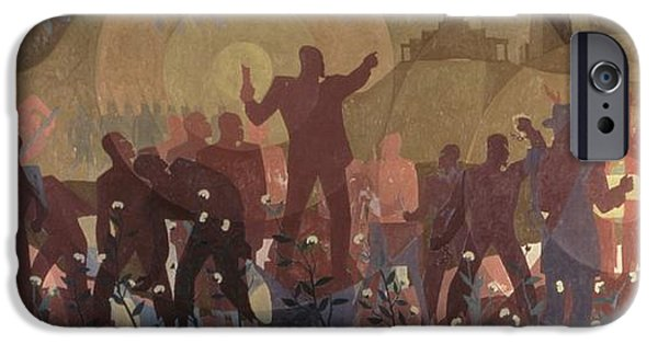 Aspects Of Negro Life IPhone 6s Case by New York Public Library/aaron Douglas