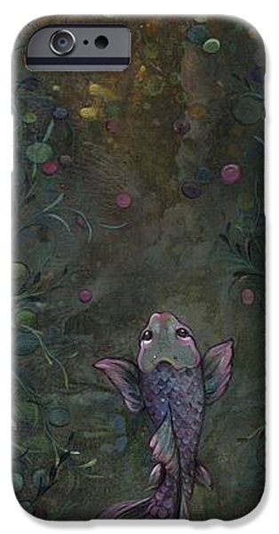 Koi iPhone 6s Case - Aspiration Of The Koi by Shadia Derbyshire