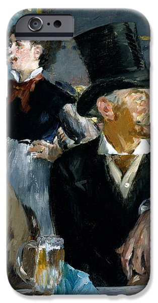At The Cafe Concert IPhone 6s Case by Edouard Manet