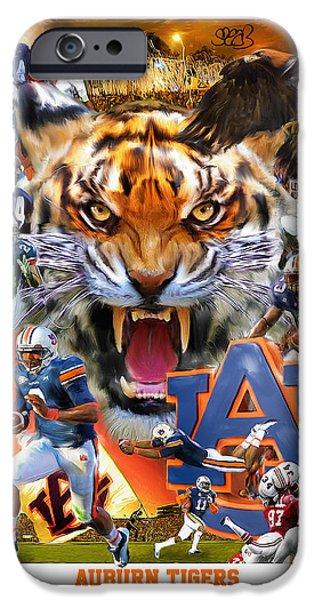 Auburn Tigers IPhone 6s Case