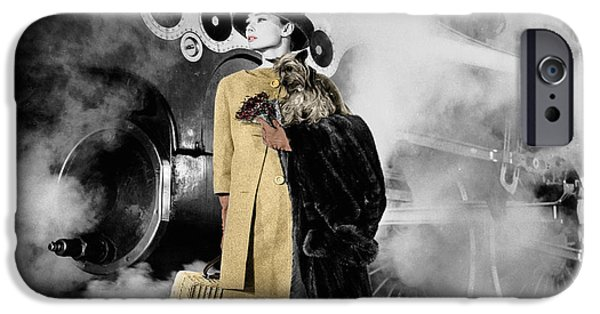 Audrey Hepburn 7 IPhone 6s Case by Andrew Fare