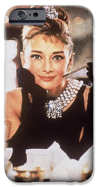 Audrey Hepburn iPhone 6s Case - Audrey Hepburn by Georgia Fowler