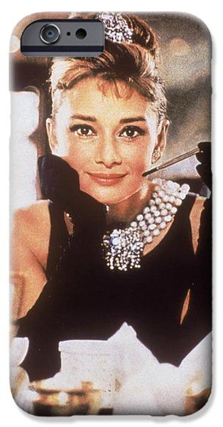 Audrey Hepburn IPhone 6s Case by Georgia Fowler